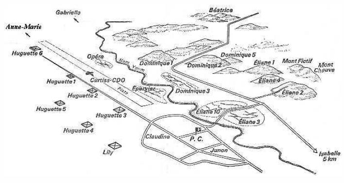 Central Sector Map | Dien Bien Phu
