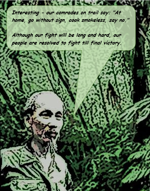 Campaign Series Vietnam | Uncle Hos Hideout Quote
