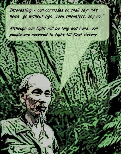 Campaign Series Vietnam | Uncle Hos Hideout Quote