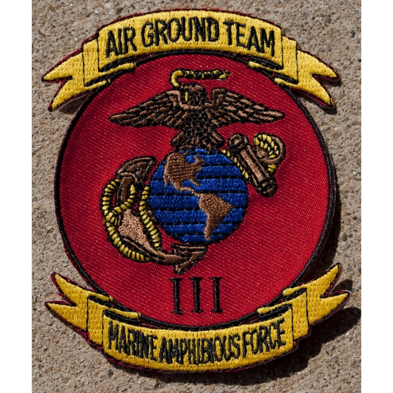 III Marine Amphibious Force Badge
