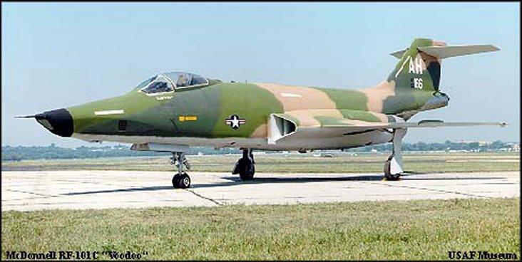USAF RF-101C 'Voodoo'
