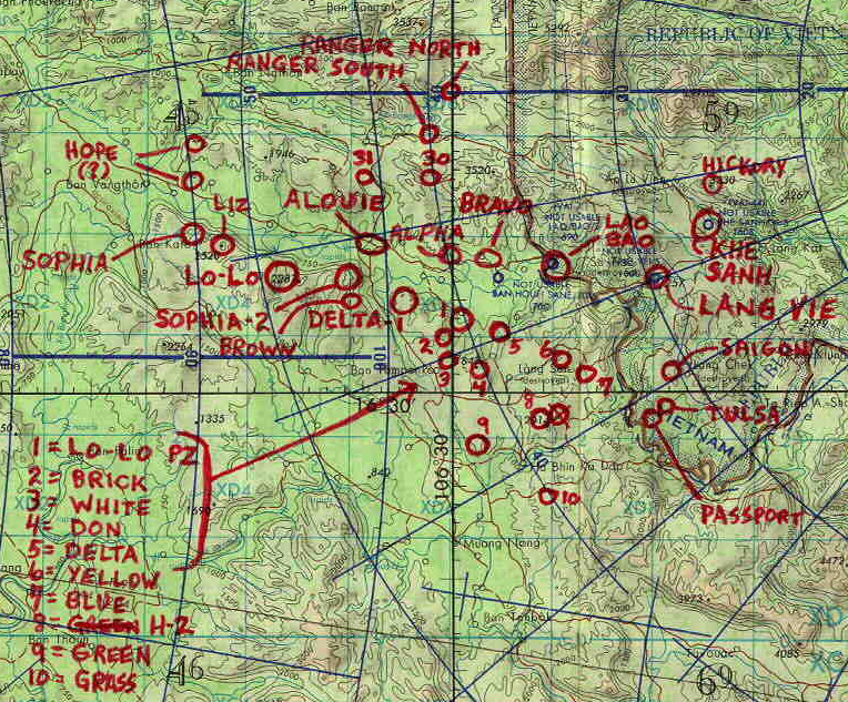 Lam Son LZ and operational situation
