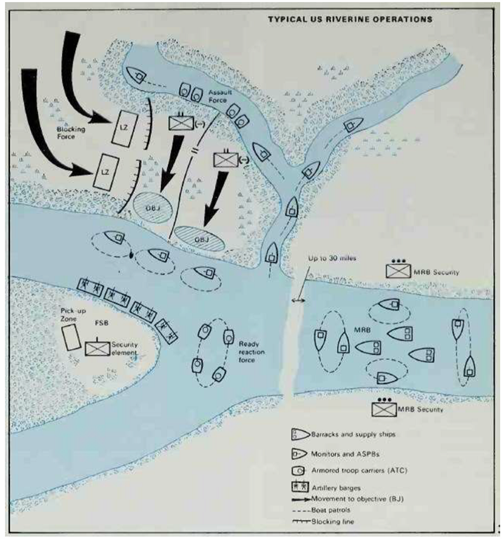 Riverine Operations Map