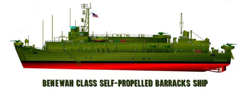Self-Propelled Barracks Ship