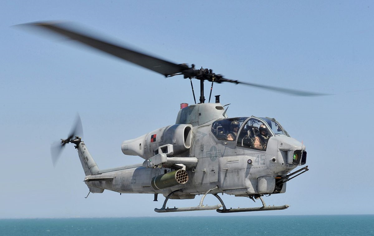 AH-1G Attack Helicopter