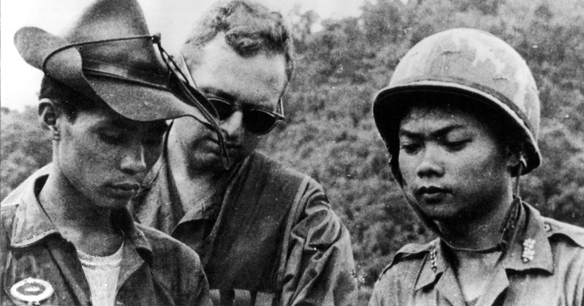 CIA adviser with South Vietnamese forces