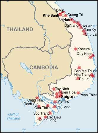 1968 Tet Offensive Plan
