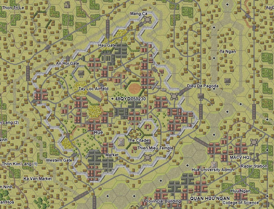 CSVN Map of Hue