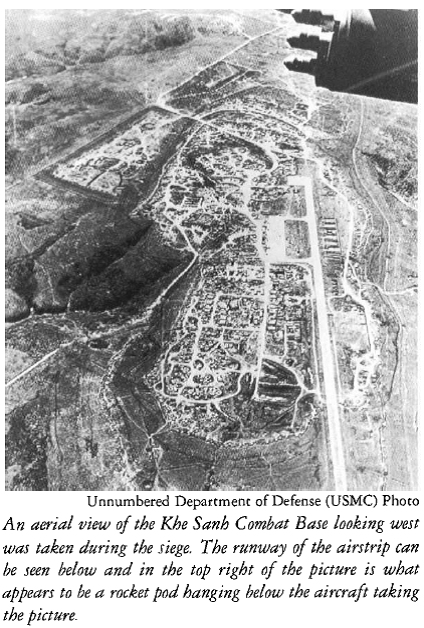 Aerial Photo Khe Sanh