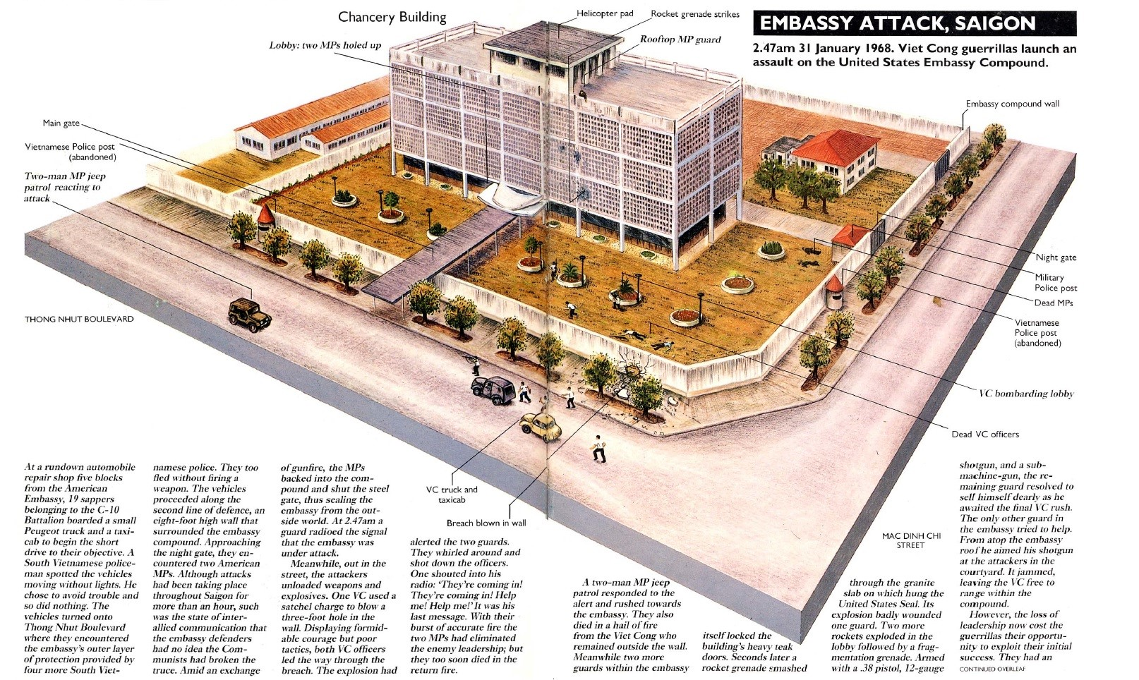 Attack on the US Embassy