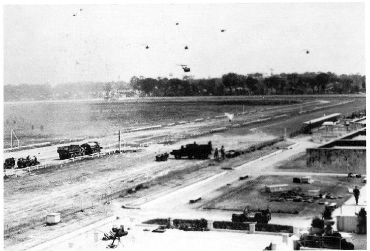 Reinforcements Arriving at Phu Tho Racetrack 10 February 1968