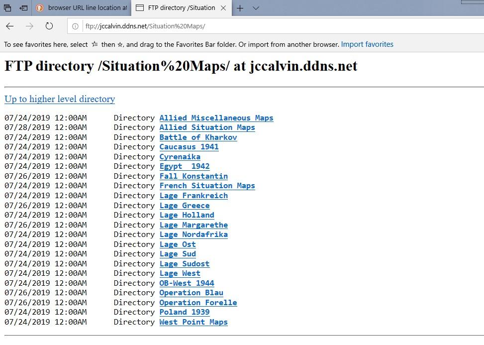 FTP Server Lagekarten