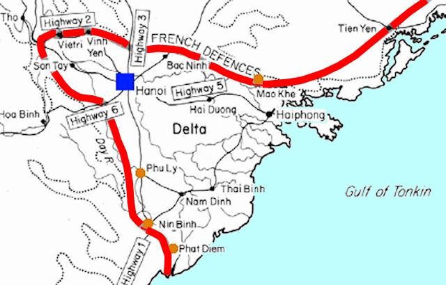 Tonkin Delta Map