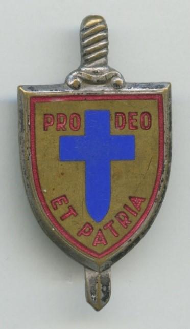 Catholic Militia Insignia