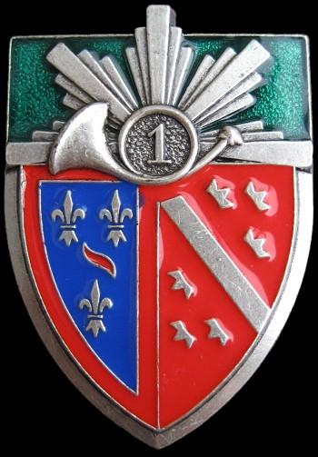 Insignia 1er Regiment de Chasseurs a Cheval