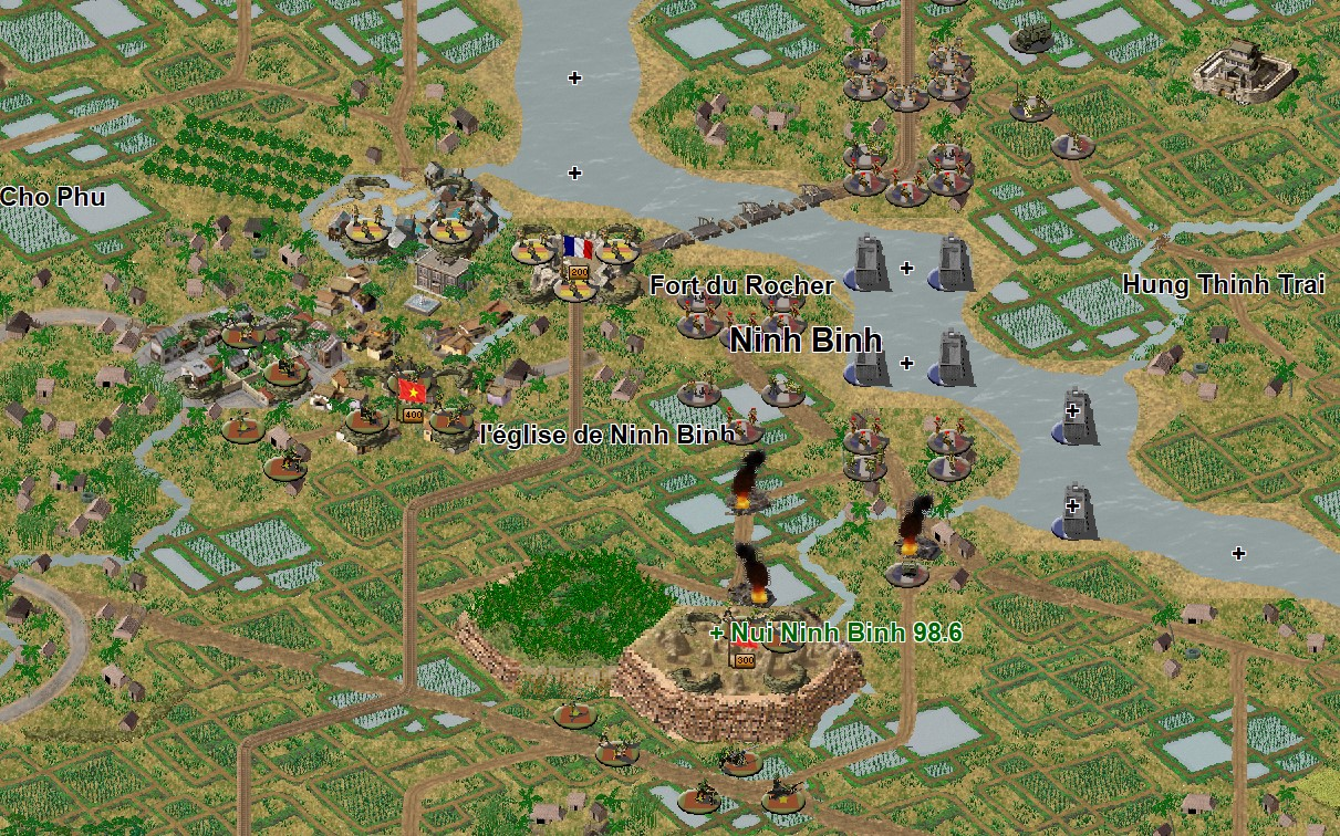 Turn 1 screenshot of scenario: Day Bataille 3 - GM1 Counter